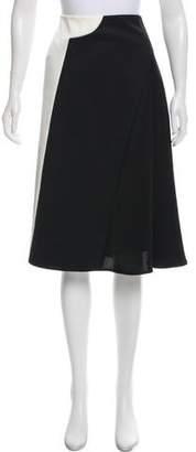 3.1 Phillip Lim Wool Knee-Length Skirt