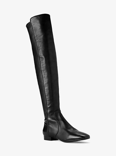 Michael Kors Coraline Leather Over-The-Knee Boot