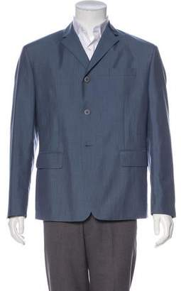 Prada Mohair & Virgin Wool-Blend Blazer