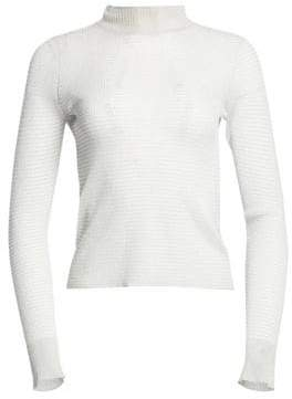Rag & Bone Raina Lurex Turtleneck