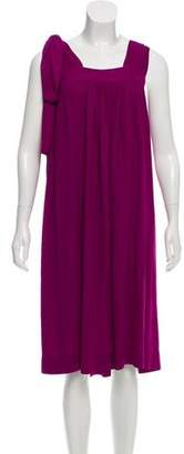 Joseph Belted Silk Dress