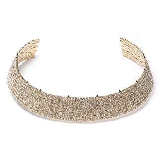 Alexis Bittar Crystal Lace Choker