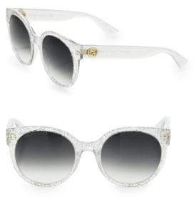 Gucci 54MM Glitter Cat Eye Sunglasses