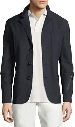 Ralph Lauren Solid Convertible Sport Jacket