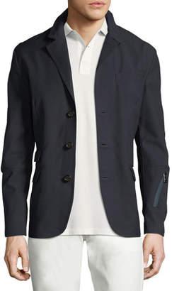 Ralph Lauren Solid Convertible Sport Jacket