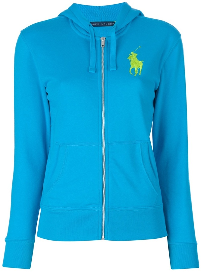Ralph Lauren Blue Label zip through hooded sweatshirt