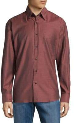 Robert Talbott Classic Cotton Button-Down Shirt