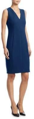 Akris Wool Crepe Sheath Dress