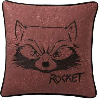 Pottery Barn Teen Guardians of the Galaxy Rocket Pillow Cover, 18x18, Multi