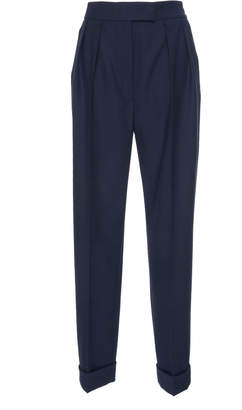 Agnona Tailoring Stretch Wool Boy Pant