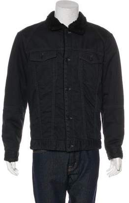 Marc by Marc Jacobs Sherpa-Lined Denim Jacket