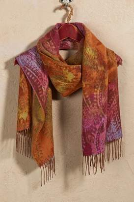 Soft Surroundings Winter Paisley Scarf