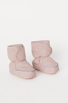 H&M Waterproof Soft Boots - Pink