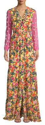Saloni Ginny Floral Maxi Dress