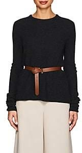 Giorgio Armani Women's Rib-Knit Cashmere-Blend Sweater - Gray