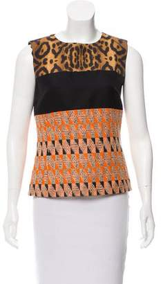 Giambattista Valli Sleeveless Woven Top