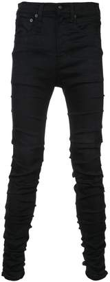 R 13 slim-fit denim jeans