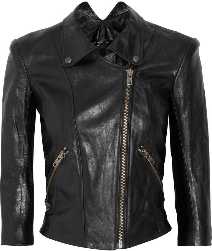 Theyskens' Theory Jotor leather biker jacket
