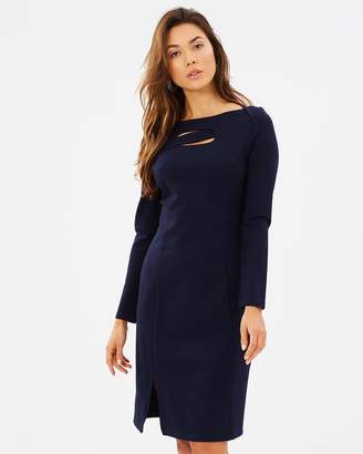 Privilege Cosmopolitan Cutout Dress