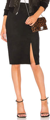 AIRLIE Abbey Suede Pencil Skirt