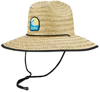 Coal Men's The Huck Wide Brimmed Straw Sun Hat