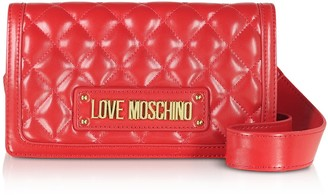 Love Moschino Quilted Eco-leather Crossbody Bag