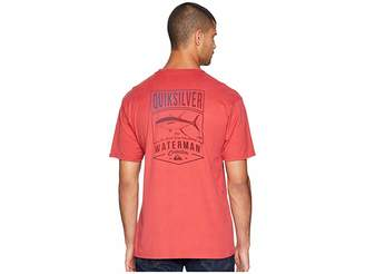 Quiksilver Waterman Gradient Curve Short Sleeve T-Shirt