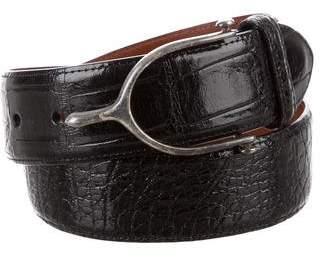 Polo Ralph Lauren Alligator Buckle Belt