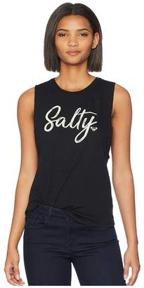 Roxy Salty Muscle Screen Fashion Tank Top Women's Sleeveless