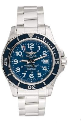 Breitling Superocean II A17365D1/C915SS Mariner Blue Dial Stainless Steel Automatic 42mm Men's Watch