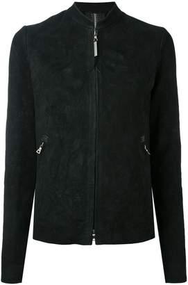 Isaac Sellam Experience standing collar jacket