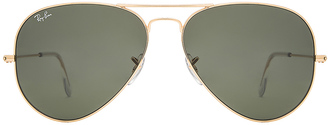 Ray-Ban Aviator Large Classic $150 thestylecure.com