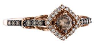 Le Vian 14K Bicolor Diamond Ring $695 thestylecure.com