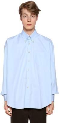 Our Legacy Classic Cotton Poplin Button Down Shirt