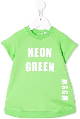 MSGM Kids colour print dress
