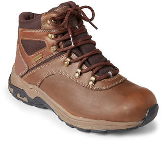 Khombu Coffee Bean Turner Lace-Up Waterproof Boots
