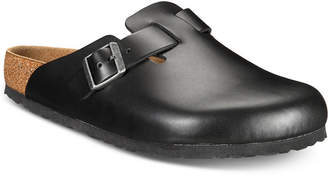 Birkenstock Men Boston Leather Clogs Men Shoes
