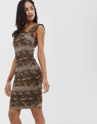 3076df10b12 City Goddess leopard print mini dress