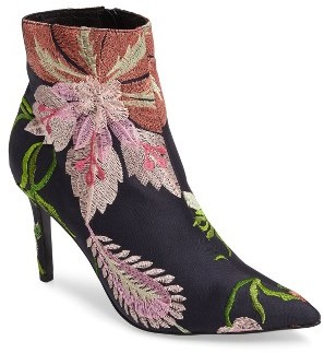 Women's Topshop Mimosa Pointy Toe Bootie $125 thestylecure.com