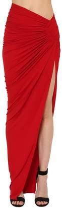 Alexandre Vauthier Stretch Jersey Skirt