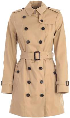 Burberry Sandringham Mid Length Trench Coat