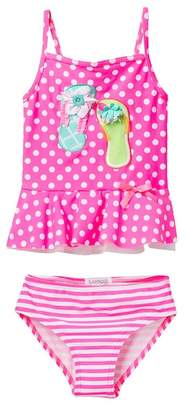 Flapdoodles Flip Flip 2-Piece Swimsuit (Toddler Girls)