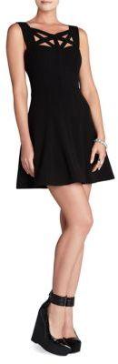 BCBGMAXAZRIA Yasminka Corset A-Line Dress