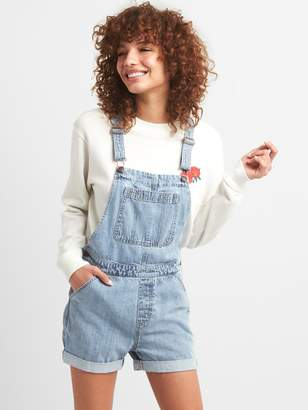 Gap Denim Short Overalls