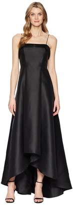 Adrianna Papell Mikado Long Dress Women's Dress
