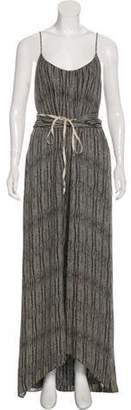 L'Agence Silk Maxi Dress Black Silk Maxi Dress