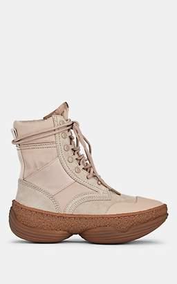 Alexander Wang Women's A1 Suede & Canvas Boots - Beige, Tan
