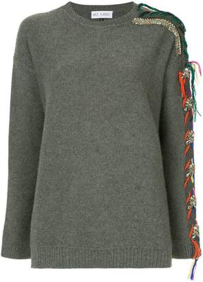 Dice Kayek embellished sleeve sweater