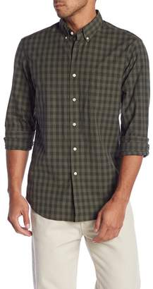 J.Crew J. Crew Secret Wash Check Print Stretch Slim Fit Shirt