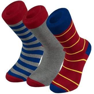 Otto Socks Ottomanson Men's Cotton 3 Pack Dress Solid Ribbed Argyle Shoe, Multicolor,Sock size 9. 5-11